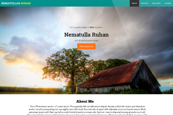 Ruhan's personal website